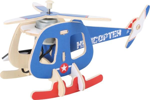 Legler, Holzbausatz, Solarhelikopter4020972069498, 6949