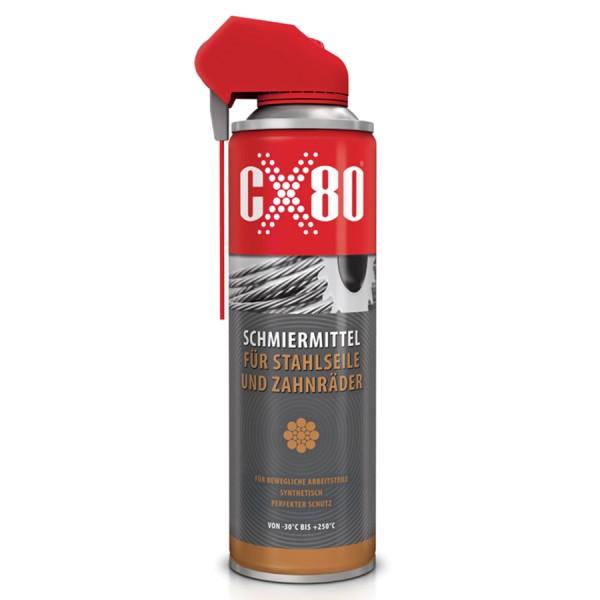 Schmiermittel - 500ml - Stahlseile - Zahnräder - CX80