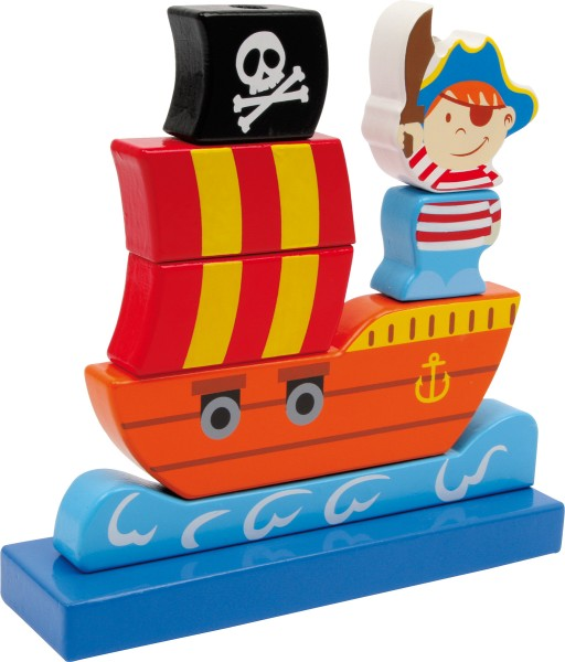 Legler, Steck-Piratenschiff, 4020972034038, 3403