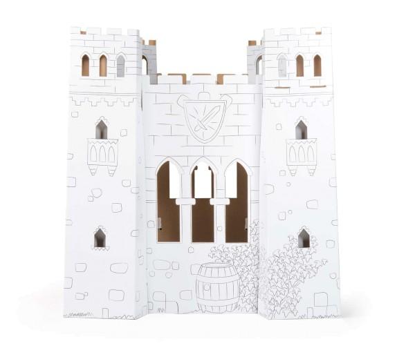 """Legler, Spielhaus, """"Burg"""", aus, Bastelkarton, 4020972100177, 10017"""