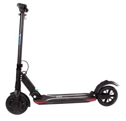 SXT light Plus (schwarz) - E-Scooter Seitenansicht