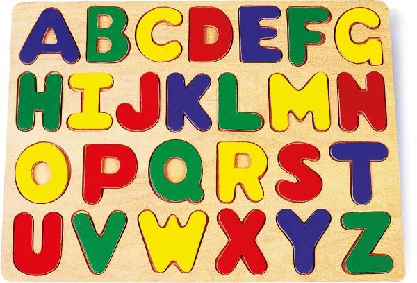 Legler, Setzpuzzle, ABC, 26, Teile, 4020972071156, 7115