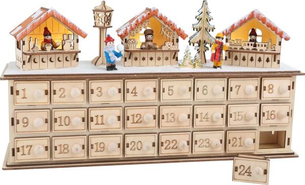 Legler, Adventskalender, aus, Holz, Weihnachtsbasar4020972012906, 1290