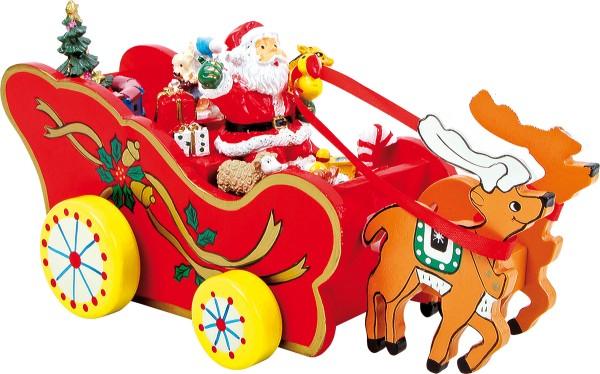 Legler, Spieluhr, Weihnachtskutsche, 4020972051363, 5136