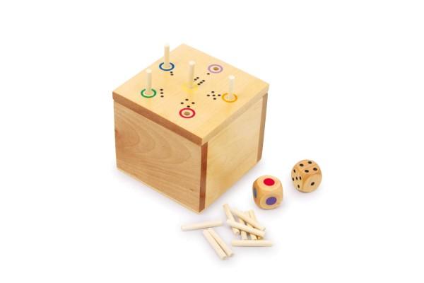 Legler, Würfelspiel, 6, raus, in, der, Box, 4020972065582, 6558
