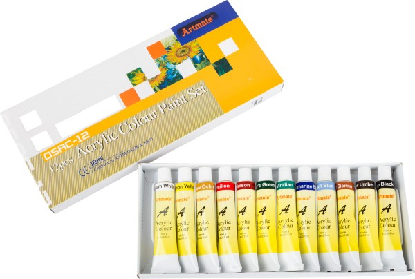 Legler, Acrylfarben, 12, Teile, 4020972080578, 8057