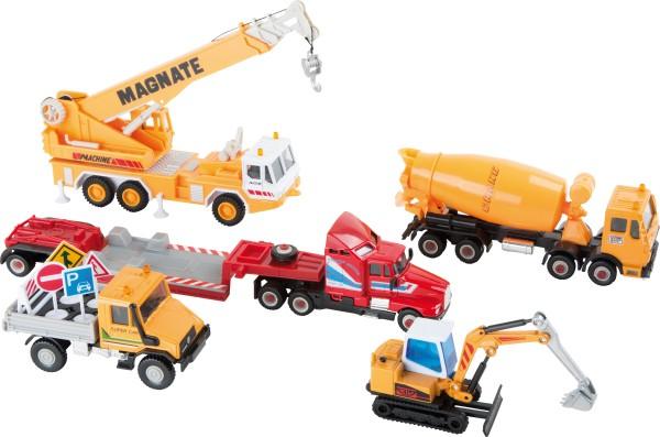 Legler, Modellautos, Baustelle, 11, Teile, 4020972085986, 8598