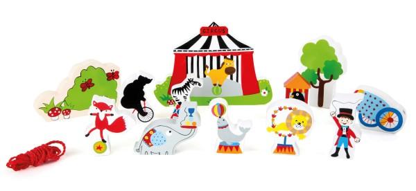 """Legler, Spielwelt, """"Zirkus, zum, Fädeln"""", 13, Teile, 4020972101693, 10169"""