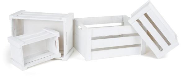 Legler, Holzkiste, weiß, 4er, Set, 4020972014993, 1499