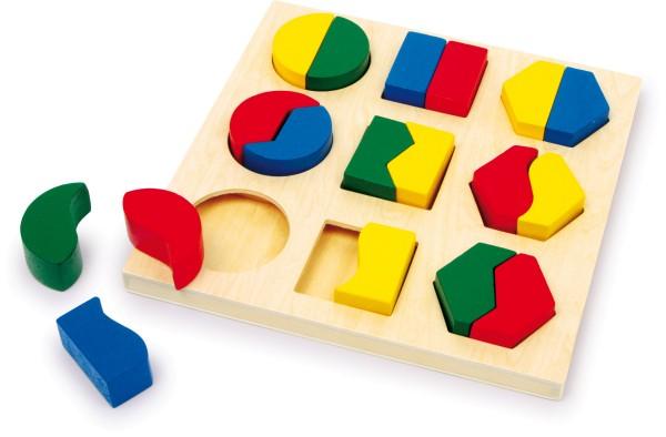 Legler, Steckpuzzle, Formen, Pärchen, 18, Teile, 4020972016003, 1600