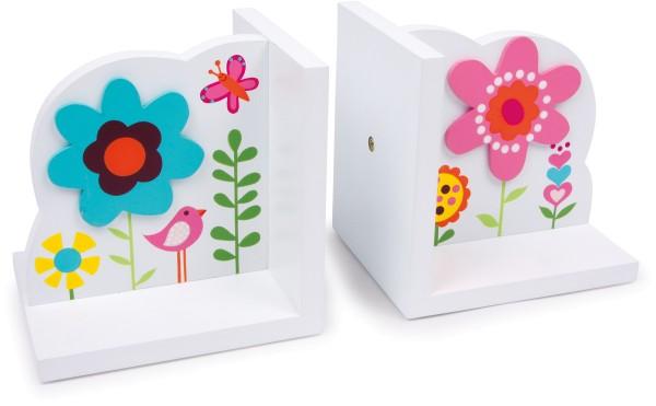 """Legler, Buchstützen, """"Blume"""", 2er, Set, 4020972065827, 6582"""