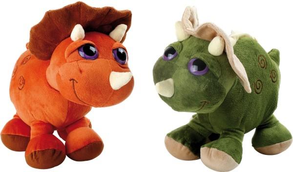 Legler, Kuscheltier, Dino, Triceratops, 2er, Set, 4020972028198, 2819