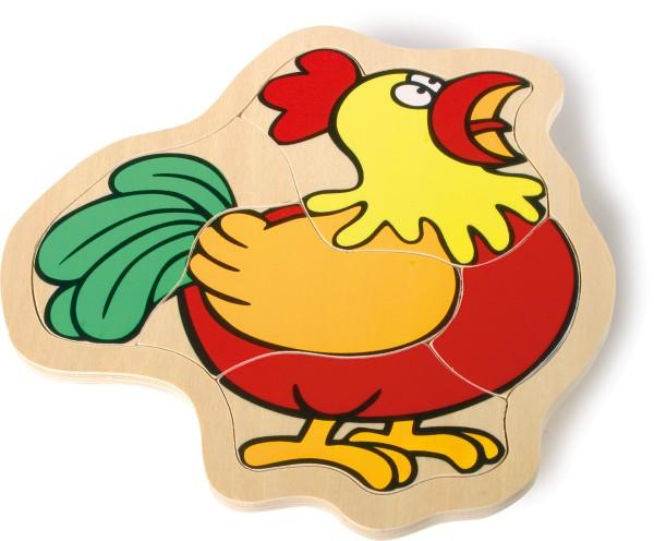 Legler, Puzzle-Box, Bauernhof, 23, Teile, 4020972073396, 7339