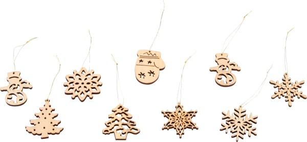 """""""Legler, Weihnachtsbaumschmuck, """"""""Schneemannbox"""""""", 48, Teile, 4020972066756, 6675"""""""