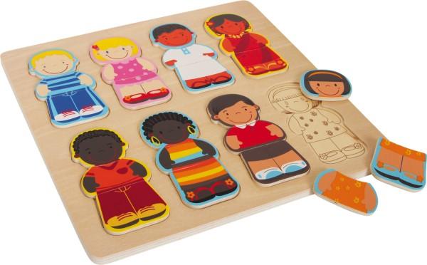"""""""Legler, Holzpuzzle, """"""""Kinder, dieser, Welt"""""""", 24, Teile, 4020972058324, 5832"""""""