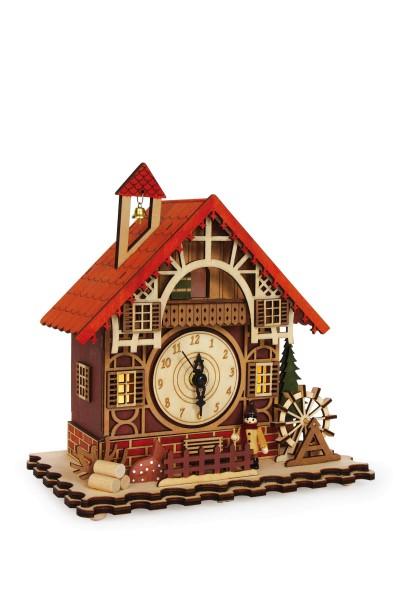 Legler, Uhr, Fachwerkhaus, 4020972063847, 6384