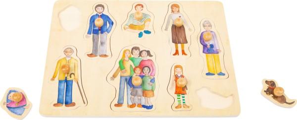 Legler, Setzpuzzle, Familie, und, Freunde, 4020972115010, 11501