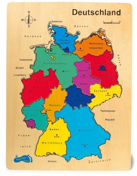 Legler, Holzpuzzle, Deutschland, 12, Teile, 4020972019653, 1965