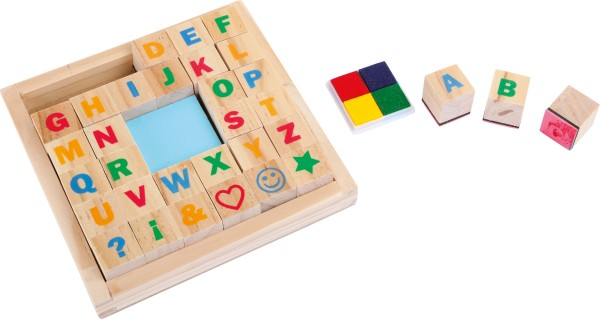 Legler, Stempel-Set, Alphabet, 4020972014955, 1495