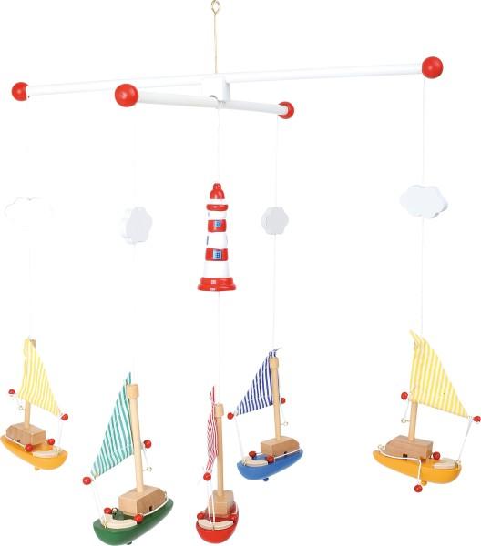 """Legler, Mobile, """"Segelboote, mit, Leuchtturm"""", 4020972072054, 7205"""