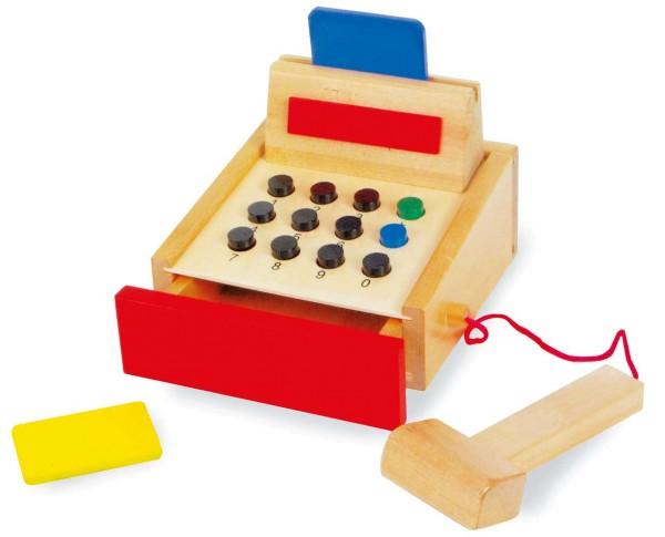 Legler, Spielkasse, aus, Holz, 4020972016065, 1606