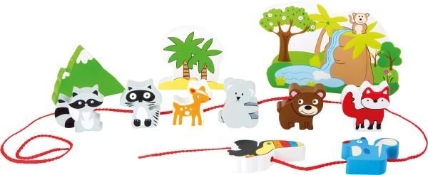 """Legler, Spielwelt, """"Safari, zum, Fädeln"""", 12, Teile, 4020972101716, 10171"""