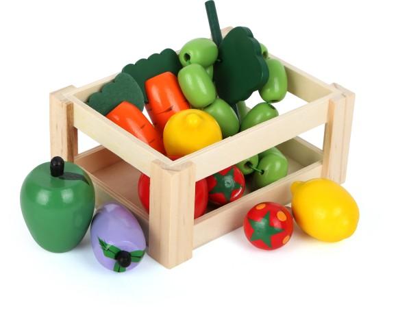 Legler, Gemüsekiste, aus, Holz, 11, Teile, 4020972071231, 7123