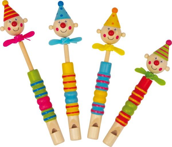 """Legler, Flöten, """"Clowns, Propeller"""", 4er, Set, 4020972061409, 6140"""