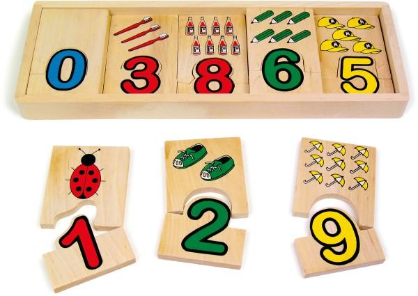 Legler, Zahlen-Zuordnung, 20, Teile, 4020972072573, 7257