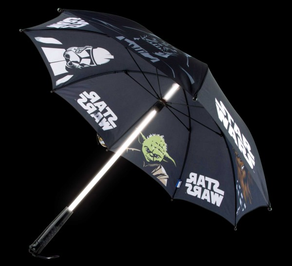 Legler, Star, Wars, Regenschirm, Lichtschwert, 4250357743754, 9362
