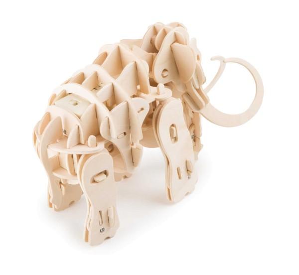Legler, Holzbausatz, Mammut, Roboter, 4020972069481, 6948