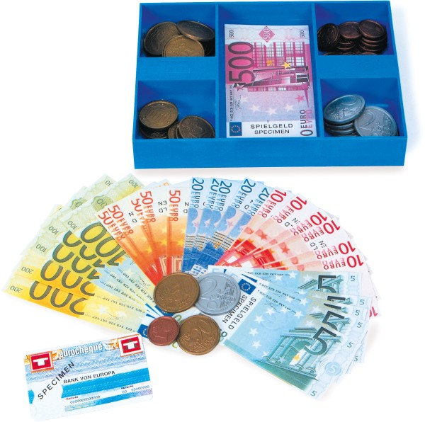 Legler, Spielgeld-Kassette, 4007464002096, 8261