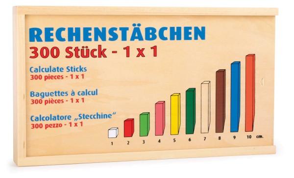 Legler, Rechenstäbchen, 308, Teile, 4020972011367, 1136