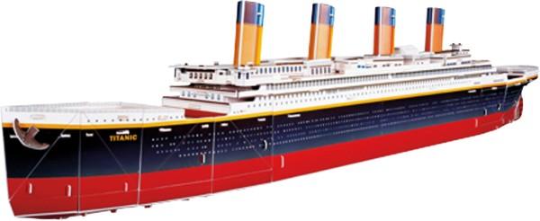 Legler, 3D, Puzzle, Titanic, 113, Teile, 4020972089304, 8930