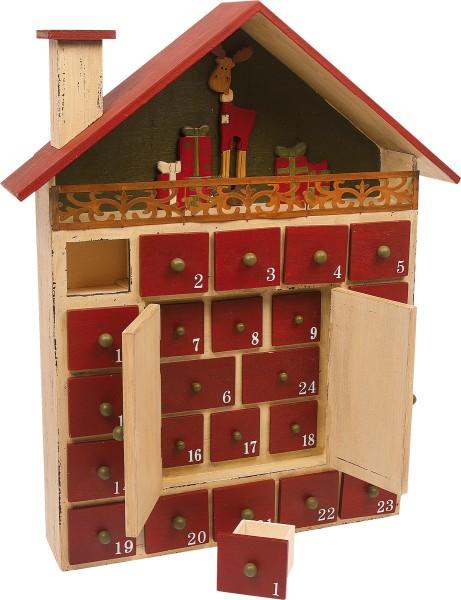 Legler, Adventskalender, Winterhütte, 4020972061805, 6180