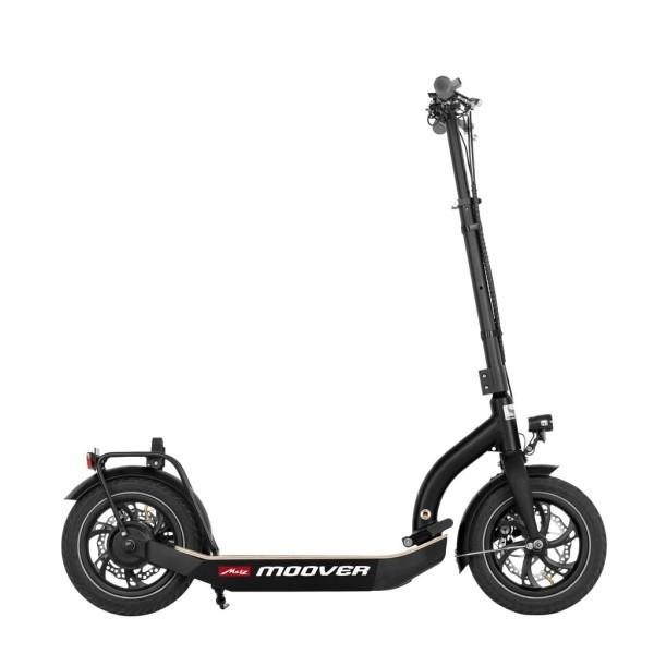 Metz moover (schwarz) - E-Scooter Seitenansicht