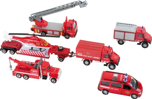 Legler, Modellautos, Feuerwehr, 8, Teile, 4020972085894, 8589