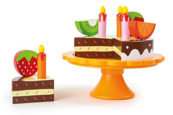 Legler, Geburtstagstorte, aus, Holz, 13, Teile, 4020972101679, 10167
