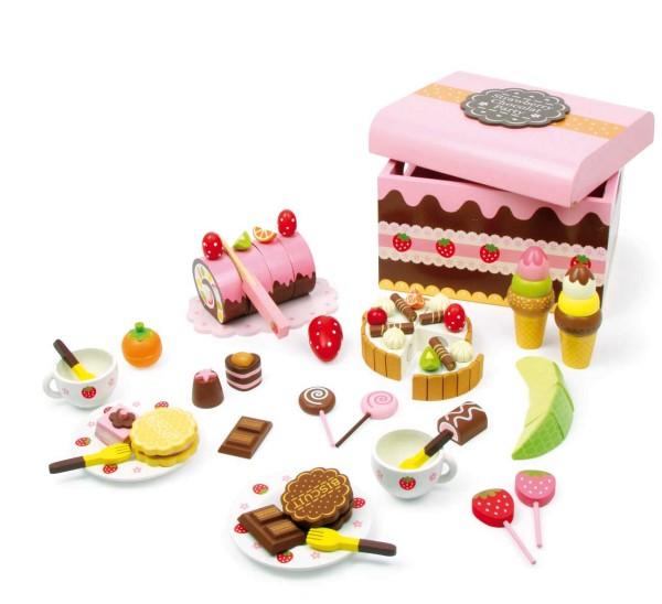 Legler, Süßigkeitenkiste, 56, Teile, 4020972028471, 2847