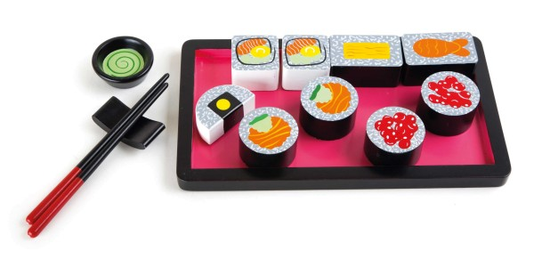 Legler, Sushi-Set, aus, Holz, 14, Teile, 4020972101532, 10153