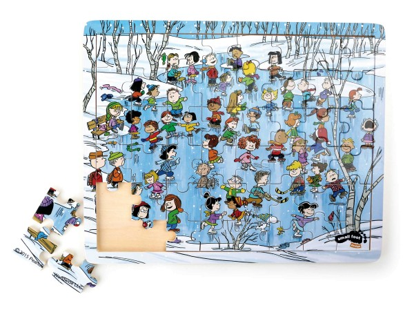 Legler, Peanuts, Puzzle, Winter, 48, Teile, 4020972042460, 4246