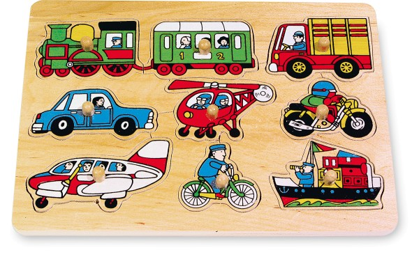 Legler, Setzpuzzle, Verkehr, 9, Teile, 4020972070869, 7086