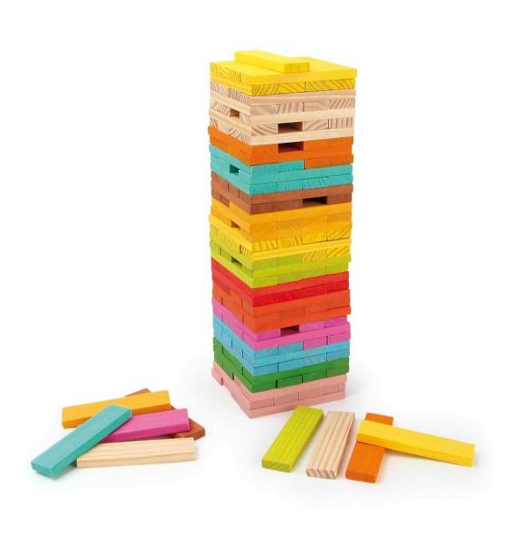 Legler, Holzbausteine, Konstruktion, Kunterbunt, 150, Teile, 4020972047526, 4752