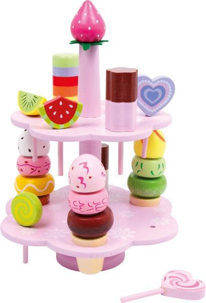 Legler, Etagere, Süßigkeiten, 22, Teile, 4020972033123, 3312