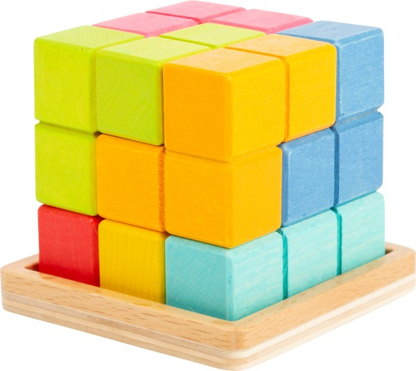 Legler, 3D, Puzzle, Tetris-Würfel, 4020972113467, 11346