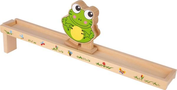 Legler, Bewegungsspiel, Frosch, mit, Holzrampe, 4020972052650, 5265