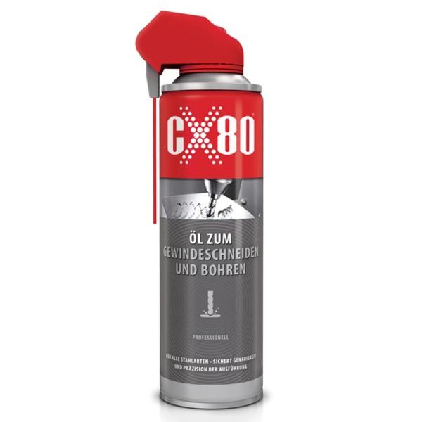 Öl zum Gewindeschneiden und Bohren - 500ml - CX80 - Schmiermittel
