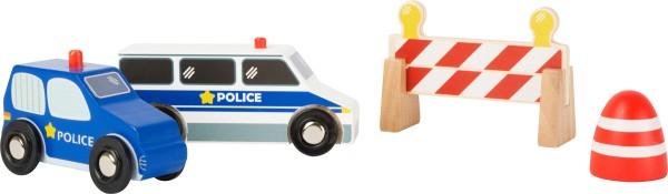 Legler, Polizei-Set, 4, Teile, 4020972109040, 10904