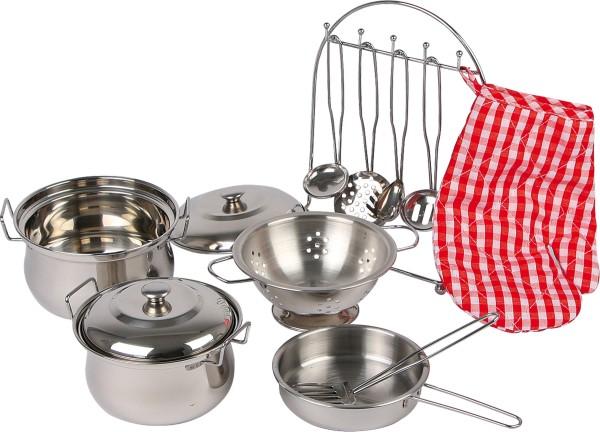 Legler, Kochgeschirr-Set, für, Kinderküche, 13, Teile, 4020972089687, 8968
