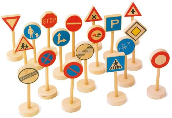 Legler, Verkehrsschilder, 18, Teile, 4020972070647, 7064